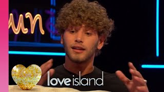 Eyal Gives His Side of the Kiss in Front Of Alex Story | Love Island Aftersun 2018
