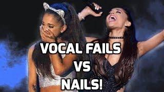 Download Lagu Ariana Grande: Worst vs Best Vocal Moments Gratis STAFABAND