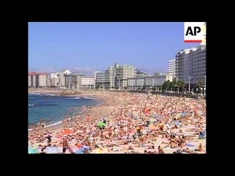 """Tourists flock to Spain's """"untouched"""" region of Galicia"""