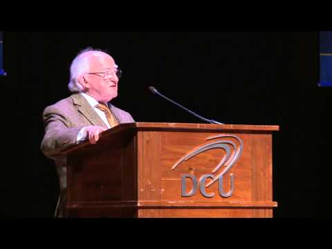'Toward an ethical economy' -- Michael D. Higgins
