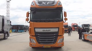 DAF XF 510 Super Space Cab Tractor Truck Exterior and Interior