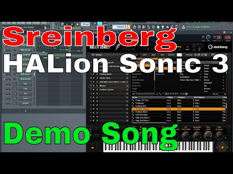 Steinberg HALion Sonic 3 Music demo 🎹🎸