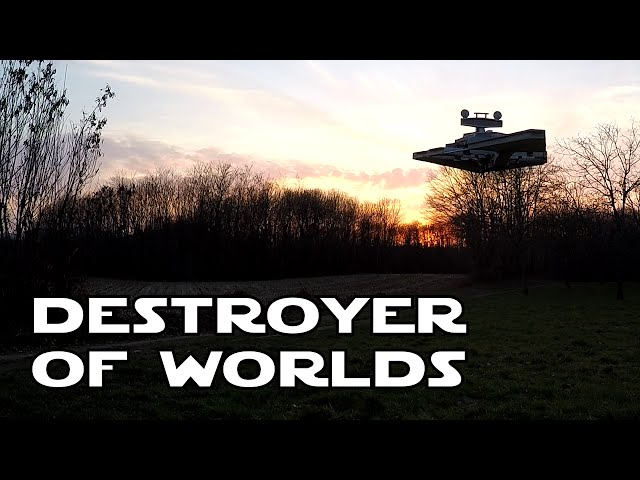 RC Imperial Star Destroyer - Destroyer of worlds