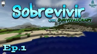 Sobrevivir en Survivalcraft 1.27.19 Gameplay Español - Primer Día | Ep 1
