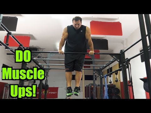 How to Muscle Up | Tutorial | Full Upper Body Exercise