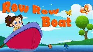 Row Row Row Your Boat | Nursery Rhyme for kids | Laughing Dots kids Nursery Rhymes