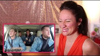 Vocal Coach REACTS to ONE DIRECTION -CARPOOL