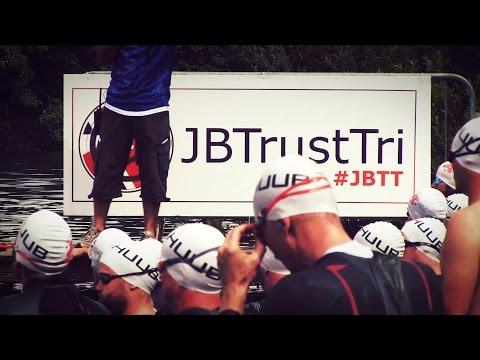 Compex - Jenson Button Trust Triathlon 2014