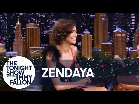 download lagu Zendaya`s Lip Sync Battle Impersonation Caught Bruno Mars` Attention gratis