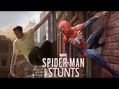 Spider-Man (PS4) Game Stunts In Real Life