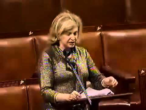 Rep. Carolyn Maloney speaks on the FHA Refinance Program Termination Act