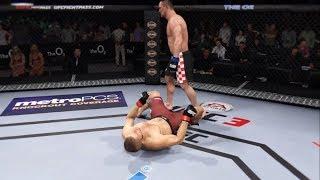 Khabib vs. Mirko Cro Cop (EA Sports UFC 3) - CPU vs. CPU