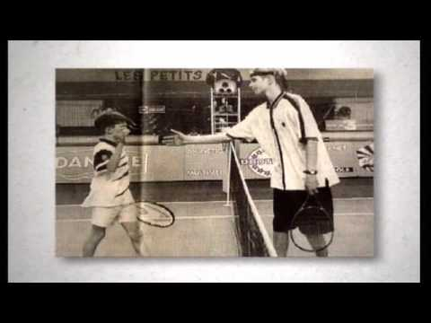 Gilles Simon portrait Video