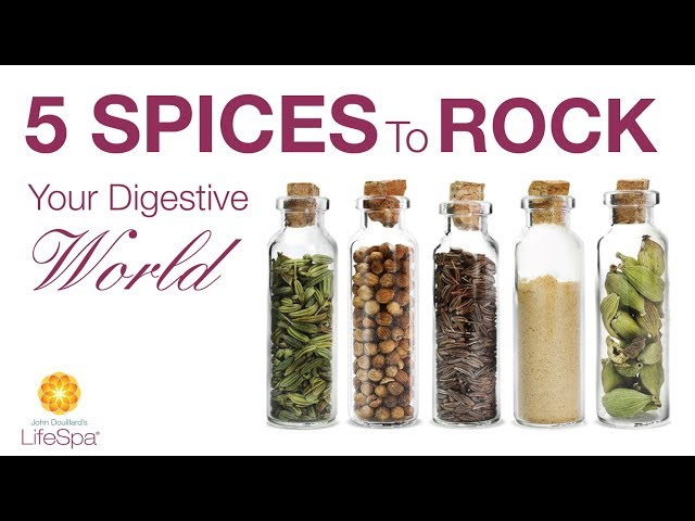 Five Spices to Rock Your Digestive World