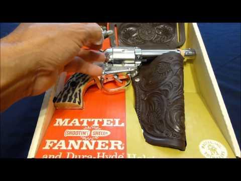Mattel Shootin Shell Fanner