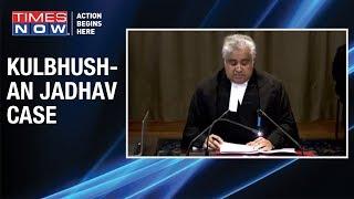 Kulbhushan Jadhav Case: Harish Salve makes opening arguements for India