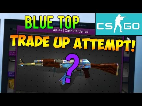 Case Hardened Blue Top Ak-47 Case Hardened Blue
