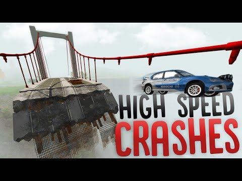 High Speed Vehicle Crashes - Wheel Grabber Police Equipment - BeamNG Drive Mods Showcase