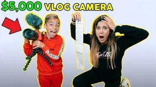 We BOUGHT Our Kid A $5,000 Vlog CAMERA! *OMG* | The Royalty Family