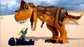 LEGO Jurassic World 🔴 Indoraptor vs Indominus Rex - 3 🦖 PL Movie