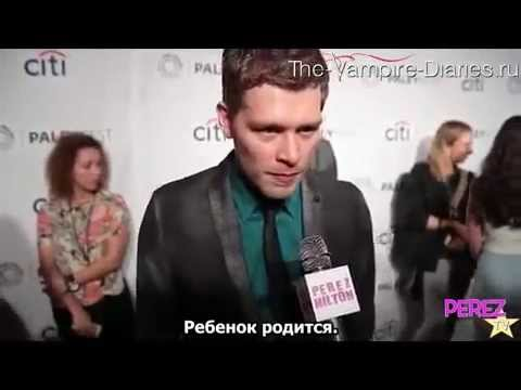 The Cast Crew Of The Originals - Two Truths & A Lie - Paleyfest 2014 (русские субтитры)