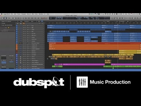 Logic Pro X Tutorial: New Features - Mixing a Song Using 'Track Stacks' w/ Bill Lee