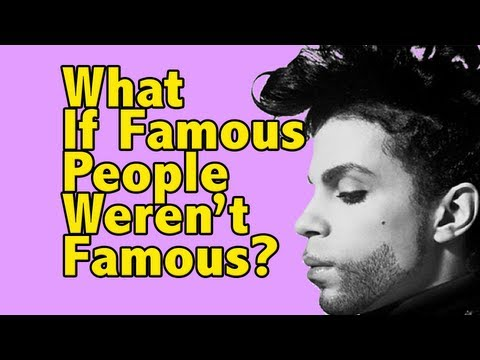 What If Famous People Weren't Famous: PRINCE