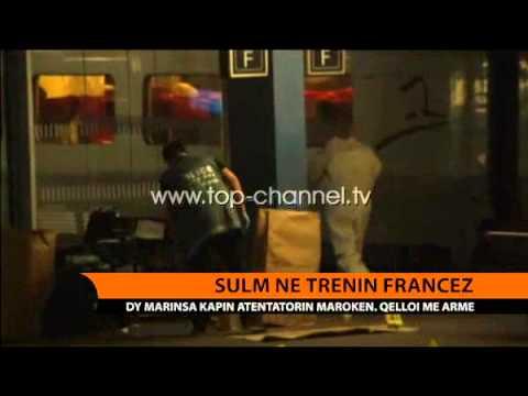 Sulm në trenin francez  - Top Channel Albania - News - Lajme