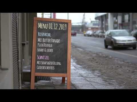 Dropmock restaurant Aufsteller