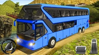 Uphill Offroad Bus Driving Simulator - 3D Gameplay