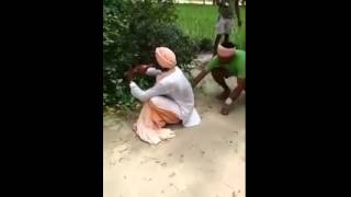 This snake charmer will make your day... Hilarious!