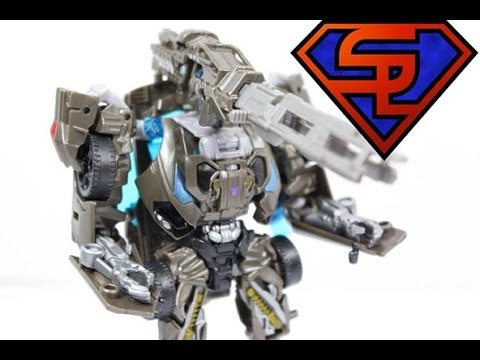 Transformers Age Of Extinction Deluxe Lockdown Movie Action Figure Toy Review