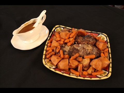 Vickie's Mom's Sunday Pot Roast Dinner