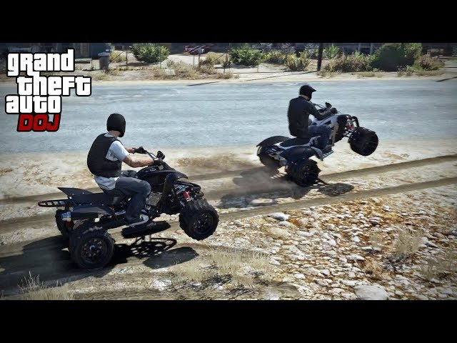 GTA 5 Roleplay - DOJ 327 - ATV Madness (Criminal)