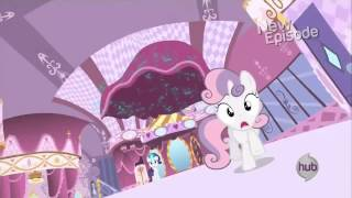 Sweetie Belle - *Getting chased by drape*