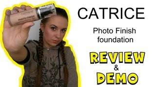 Ревью: Catrice Photo Finish 18h Foundation