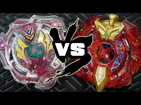 BATTLE: Xcalibur Force Xtreme VS Valkyrie Wing Accel - Beyblade Burst!