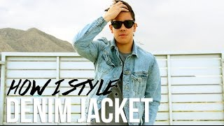 HOW TO STYLE: THE DENIM JACKET (MEN'S FASHION 2015) | JAIRWOO