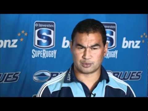 Blues Coach Pat Lam on the 2012 Super Rugby Squad