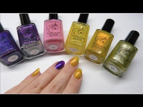 Madam Glam nail polish review