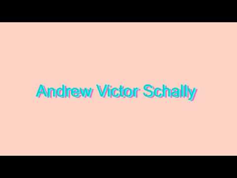 How to Pronounce Andrew Victor Schally