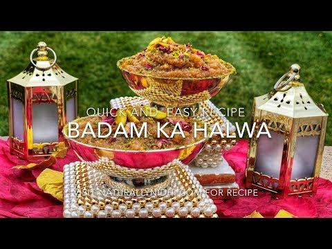 Badam Ka Halwa (Almond Halwa)