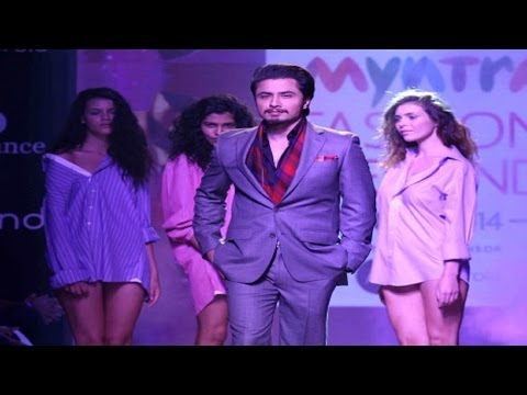 Ali Zafar Walks The Ramp At Myntra Fashion Week video
