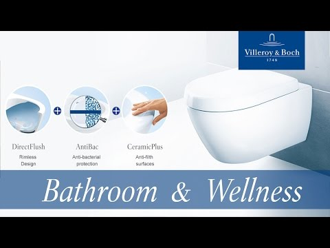 Villeroy & Boch - Our hygiene champion - The innovative toilet for triple cleanliness