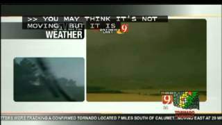 5-31-13 Tornado-Gary England warns his StormTrackers