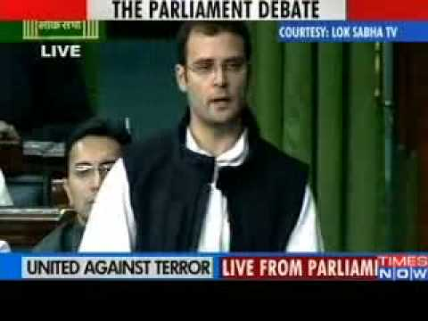 MUMBAI TERROR ATTACKS - Terrorist attacked every Indian says Rahul Gandhi!