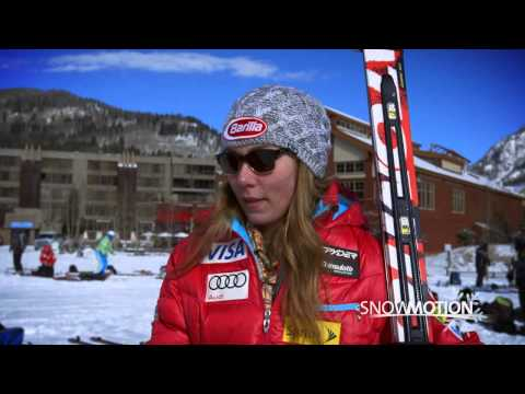 Snow Motion Mikaela Shiffrin Interview