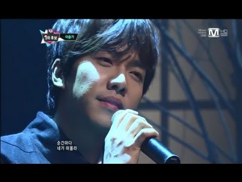 이승기_되돌리다 (Return by LEE SEUNG GI@Mcountdown 2012.12.13)