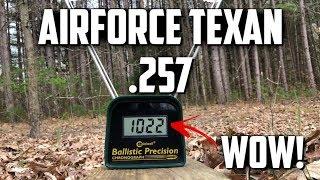 Airforce Texan .257 Air Rifle: An Airgun That is Better Than Advertised?