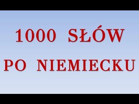 1000 SŁÓW PO NIEMIECKU